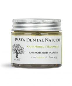 Pasta Dental Curativa – Sin Flúor