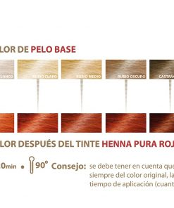 Henna Natural 100% Pura Khadi. 100 Gr