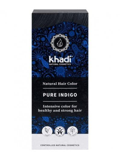 Herbal Color Khadi Indigo Natural. 100 Gr