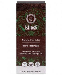 Herbal Color Khadi Castaño Avellana. 100 Gr